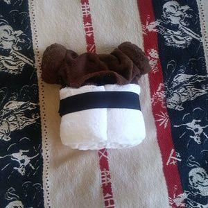 NWOT Princess Leia Bath Towel